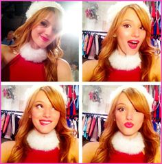 "Bella Thorne Films The ""Shake It Up"" Christmas Episode"