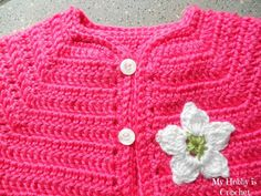 Free Crochet Pattern Short Sleeve Sweater : 1000+ images about cardigan on Pinterest Crochet ...