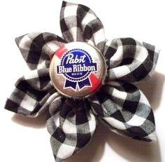 Beer cap bows!
