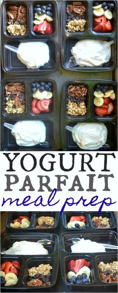 #ad Yogurt Parfait Meal Prep & on the go Dunkin Donuts Iced Coffee @kumandgo #DDIcedCoffeeToGo