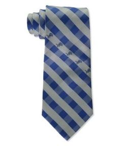 Eagles Wings Detroit Lions Checked Tie - Team color
