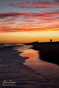 Summer Sunset Magic - Robert Moses State Park - Long Island - New York