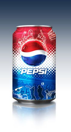 pepsi can art | Pepsi Can on Behance