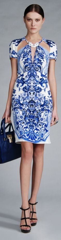 HAUTE♔DRESS: Roberto Cavalli Resort 2013 - $1,380.00