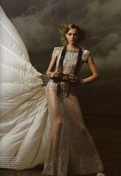 parachute dress....
