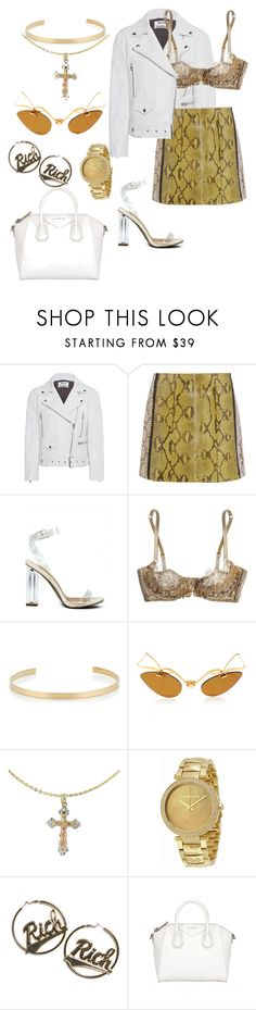 """rich"" by jada-ginn on Polyvore featuring Acne Studios, Marni, Agent Provocateur, Jennifer Fisher, Cross, Michael Kors and Joyrich"