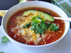 Make and share this The Best Chicken Tortilla Soup recipe from Food.com.