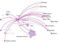 Allegiant route map. | SGF Airlines | Pinterest | Flight attendant ...