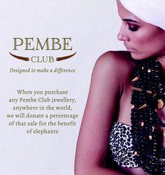 @PembeClub  #SaveOurElephants #Ethical #Jewellery #DesignedToMakeADifference Club Design, Jewelry Collection, Sequin Skirt, Jewellery, Fashion, Moda, Jewels, Fashion Styles, Schmuck