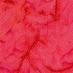 FQ Pink Red Dot Batik Jakarta Quilt Fabric Clearwater | eBay