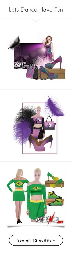 """""""Lets Dance Have Fun"""" by cglightningart ❤ liked on Polyvore featuring shoes, pumps, bags, handbags, shoulder bags, high-heeled, high heel pumps, high heel court shoes, high heel shoes and high heeled footwear"""