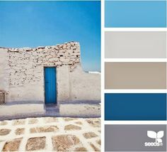 """love this palette. """"Door to your Dreams"""" - how fitting for a wedding!"""