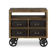 360 Rustic Drawer Nightstand - $311.00 at Rotmans