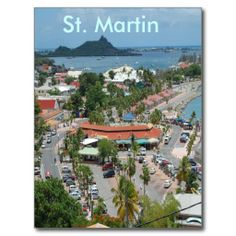 Downtown St. Martin Post Card by Khoncepts Sold! (France) Thank you :-)