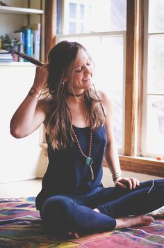 Sadie McDonald is a yoga instructor at Trailside Yoga and an owner of the Path Outfitters