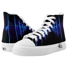 #black - #Color Play High-Top Sneakers