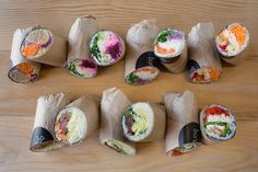 buredo - healthful hybrid of sushi meets burrito | downtown, dupont & other locations