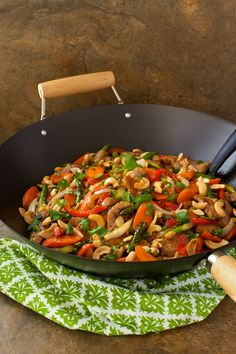 Easy and Better Than Take Out:  Pork Tenderloin and Cashew Stir Fry #recipe