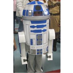r2d2 costume instructions - pretty good one