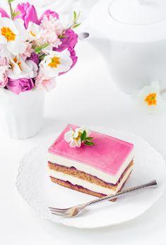 Polish Recipes, Polish Food, Vanilla Cake, Panna Cotta, Ethnic Recipes, Alice