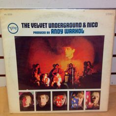 On the flip Rare Records, Terrapin, Arts And Entertainment, Andy Warhol, The 100, Velvet, Lp, Prints, Banana