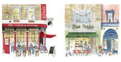 alice tait — London Shopfronts Greetings Cards Set