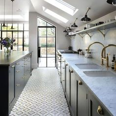 202 design was established in 2001 with the vision of creating fine bespoke kitchens, fitted cabinetry and furniture for private clients and design professional Kitchen Tiles, Kitchen Flooring, New Kitchen, Kitchen Interior, Kitchen Decor, Kitchen Storage, House Extension Design, Extension Ideas, Open Plan Kitchen Living Room