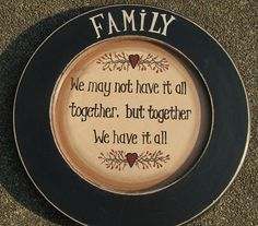 Plate & Stand Set - Faith Family Friends Star Berry Twigs ...