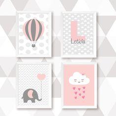 Nursery Canvas, Diy Canvas, Girl Nursery, Posters Decor, Baby Posters, Baby Room Decor, Nursery Decor, Sleepover Birthday Parties, Diy Barbie Clothes