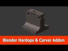 Blender Hardops & Carver Addons - BlenderNation