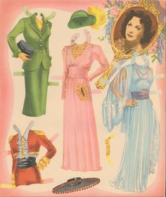 Hedy Lamarr | Gabi's Paper Dolls