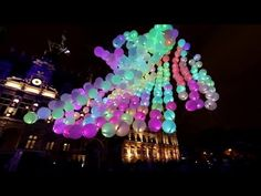 MINI BURBLE PARIS — monumental interactive light installation