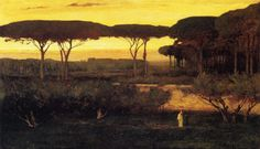 Exposition Art Blog: American landscape painter George Inness