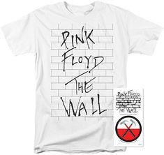 95a2c859 Amazon.com: Pink Floyd The Wall Album Rock Band T Shirt (Large): Clothing