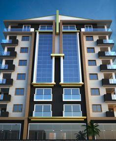 Unbelievable Modern Architecture Designs – My Life Spot Office Building Architecture, Modern Architecture Design, Building Facade, Facade Design, Exterior Design, House Design, Building Elevation, Commercial Design, Deco
