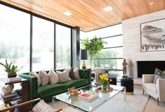 Eastern influences meet western comfort in a glam California home by Blackband Design.