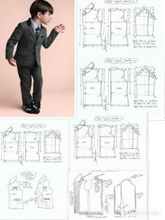 Discover thousands of images about Simple Wire Wrap Tree Tutorial Mens Shirt Pattern, Blazer Pattern, Suit Pattern, Jacket Pattern, Baby Dress Patterns, Kids Patterns, Coat Patterns, Clothing Patterns, Sewing For Kids