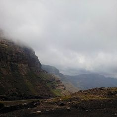Of foggy mountain top. #travel #mountains #hiking #adventure #filming #documentary #landscapes #nature #herdboys #Lesotho  by davvymax http://bit.ly/AdventureAustralia