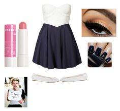 """""""Untitled #95"""" by i-love-niall-horan-4457 ❤ liked on Polyvore featuring Club L, ASOS, NARS Cosmetics and Korres"""