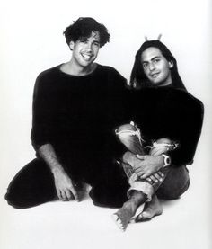 #TBT: Marc & Robert, crazy cat duo since 1984. Happy 30th birthday to the Marc Jacobs International family! #MJ30