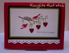 Image detail for -today s card is made with the new occassion mini hostess stamp set up ...