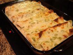 Pinterest White Chicken Enchiladas