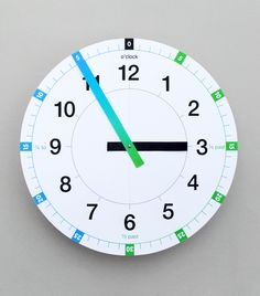 "FREE ""Tell the Time"" Printable Clock"