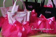 Tutu bag idea - LOVE IT!