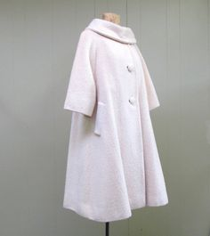 Vintage 1950s Lilli Ann Swing Coat by RanchQueenVintage on Etsy, $395.00