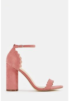 110a01eb2ab7 JustFab Aleecia Heeled Sandal Womens Pink Size 12 Ladies Shoes