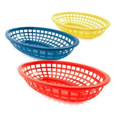 Serve your hamburgers or brags in baskets lined with napkins or checked liners.  A great way to add some fun to your next backyard BBQ!