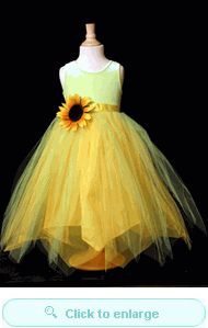 Perfect dress for Addie for the wedding!! Sassy Sunflower Ensemble, All Sizes 2 to 12