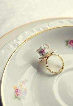 tiny teacup ring