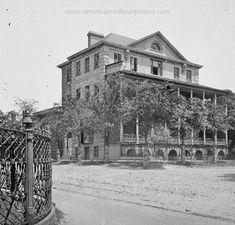 1865 - Aiken-Rhett House.  American Civil War Buildings pictures - photos & art pics - Page 21